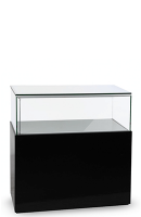 wodden display-plinth-counter